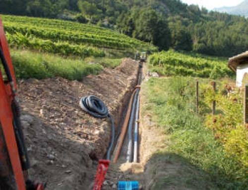 Riqualificazione reti idropotabili e fognarie delle frazioni di duvredo-Santa Croce