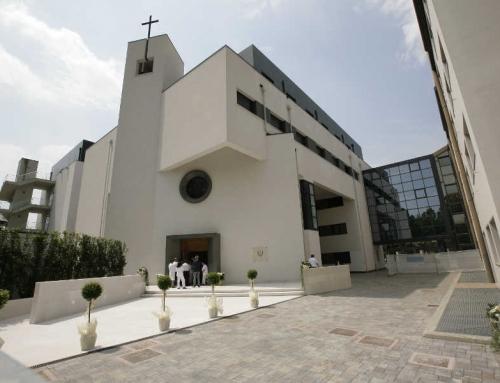 """Demolizione e ricostruzione padiglione Ospedale """"S. Camillo""""  Treviso e Chiesa"""