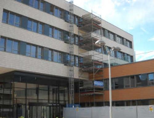 Opere di completamento nuova ala ospedale Brunico (BZ)