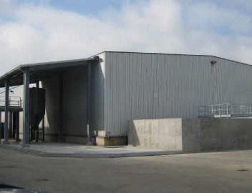 Realizzazione opere edili impianto trattamento acque