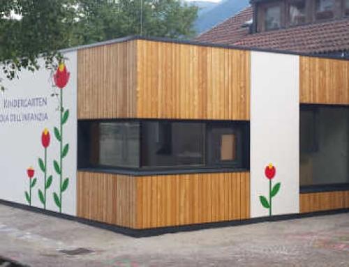 Ampliamento Scuola Materna a Scezze di Bressanone (BZ)