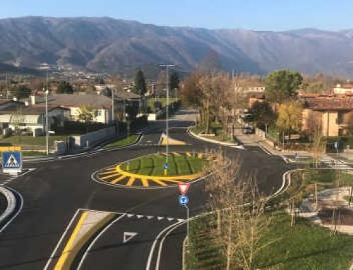 Rotatoria tra Via Ronche, Via Canevon e Via Noncello – Comune Sacile (PN)