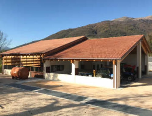 Ampliamento cantina Marsuret e copertura vasi vinari