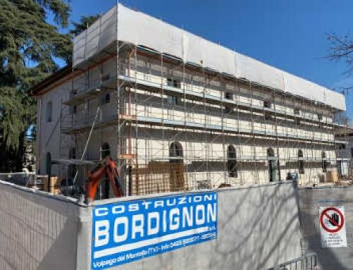 Restauro Conservativo della Grande Barchessa Manin a Montebelluna (TV)