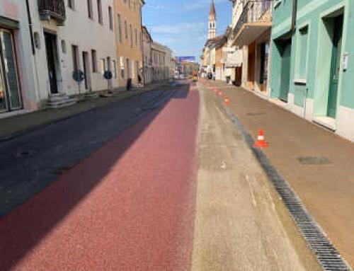 Riqualificazione Via Cardinal Agostini a San Martino di Lupari (PD)