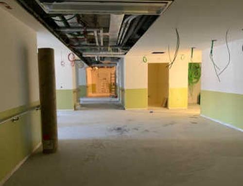Ristrutturazione Ospedale di Brunico, Piano Terra Edificio A