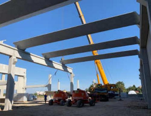Demolizione e ricostruzione capannone industriale STEEL Srl